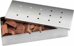 Zilveren Grill Care Wood Chip Smokerbox