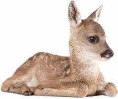 Bruine KEK Amsterdam Forest Friends: Deer - Muursticker - Multicolor