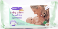 Sweet Care SweetCare Baby Billendoekjes - Sensitive 72 stuks