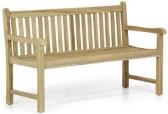 Grijze Garden Collections Preston houten tuinbank teak 150 cm
