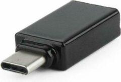 Cablexpert USB-C (m) - USB-A (v) adapter - compact - USB3.0 / zwart