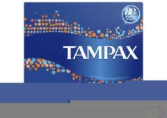 12x Tampax Compak Super 36 stuks