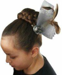 Jessidress Feestelijke haarclip met strass - Grijs