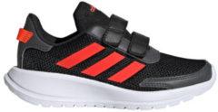 Adidas Performance Tensaur Run C sportschoenen zwart/rood kids
