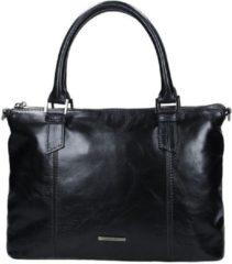 Blauwe Claudio Ferrici Pelle Vecchia 22001 Handbag navy