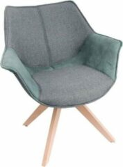 Feel Furniture - Bruce stoel - Grijs & Groen