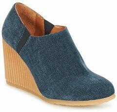 Blauwe Low Boots Castaner VIENA