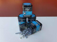 Grijze Expandet spijkerplug nylon 6 x 35 mm 20 stuks