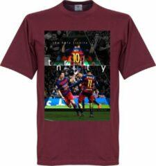 Bruine Retake Barcelona The Holy Trinity T-Shirt - XL