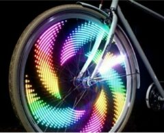 Benson Fietswiel verlichting LED - verschillende kleuren - spaakwielverlichting