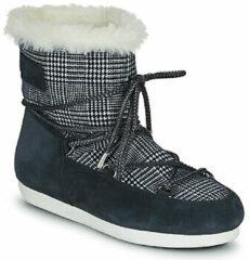 Blauwe Snowboots Moon Boot MOON BOOT FAR SIDE LOW FUR TARTAN
