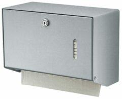 Roestvrijstalen Handdoekdispenser aluminium klein voor Wandmontage van MediQo-line 8160