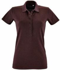 Paarse Polo Shirt Korte Mouw Sols PHOENIX WOMEN SPORT