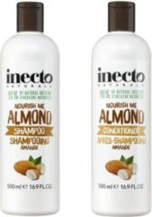 Inecto almond shampoo en conditioner