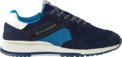 Scotch & Soda Heren Lage sneakers Vivex - Blauw - Maat 42