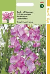 Roze Hortitops Zaden - Lathyrus Odoratus Royal Family Rose