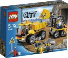 Gouden LEGO City Kiepwagen met Laadschop - 4201
