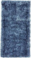Perezvloerkleden.nl BOTERO - hoogpool - vloerkleed - 110 x 60 cm – blauw