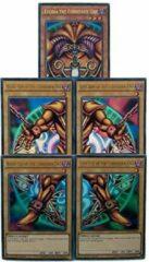 YuGiOh! - Konami Yu-Gi-Oh! - Exodia The Forbidden One Set - Complete set