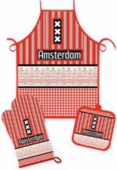 Matix Keukenset Amsterdam Gevels Rood/zwart - Souvenir