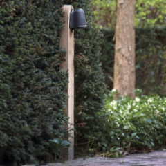 Authentage Tuinlamp Balume Pole op houten mast Authentage BAL001003