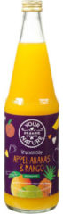Your Organic Nat Vruchtensap Appel Ananas Mango (700ml)