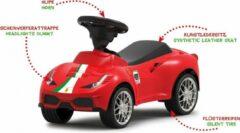 Jamara Loopauto Ferrari 488 Gte Junior 69,9 Cm Synthetisch Rood