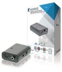 König Digitale audio naar stereo RCA-converter TosLink female + S/PDIF femal