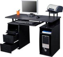 HOMCOM Computertisch mit Druckerablage