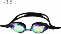 Lovetoswim.nl Zwembril op sterkte -3.5 (mirror)