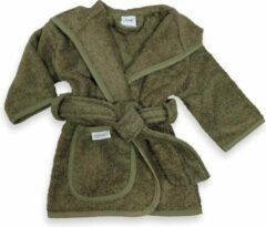 Gepersonaliseerde badjas forest | funnies badjas | badjas met naam | 0-1 jaar | 100% zuivere katoen, badstof | baby | na het zwemmen | na het douchen