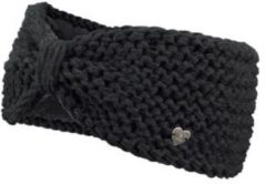 Zwarte Barts Ginger Headband - Hoofdband - One Size - Black