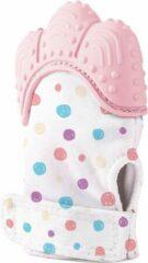Baby Jem BabyJem-Bijthandschoen-Jeuk-Speelgoed -Handschoen-Bijtring-Roze