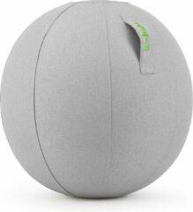 Licht-grijze Wobbleez Wobblez Zitbal Lichtgrijs 65cm| Ergonomisch werken aan je bureau zonder last van je onderrug