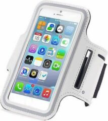 Qatrixx Sports armband case Wit White voor Apple iPhone 7