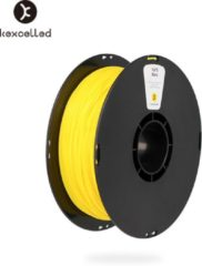 Kexcelled PLA Yellow/geel - ±0.03 mm - 1 kg - 1.75 mm - 3D printer filament