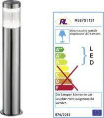 Reality RealityTrio LED-Wegeleuchte RL125, Standlampe Außenleuchte Gartenlampe, 7W EEK A