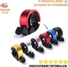 JustBuy Onzichtbare Fietsbel - Racefiets - Kinderfiets - Geluid - Diverse Kleuren - BLAUW