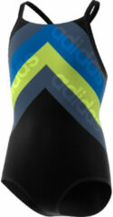 Blauwe Adidas Lineage Takedown trainingsbadpak voor meisjes - Badpakken