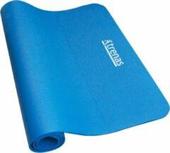 Trenas ESam® - Gymnastiekmat - Trainingsmat - Fitnessmat - Mat - 190 cm lang x 100 cm breed x 1 cm dik - Blauw