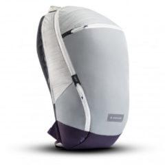 Licht-grijze Heimplanet Arc 20L - Lichtgrijs - Luxe Rugzak - Backpack - Laptoptas - Reistas - Heren - Dames - Duurzaam - Cadeau voor hem en haar