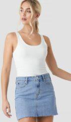 Calvin Klein Mid Rise Skirt - Blue