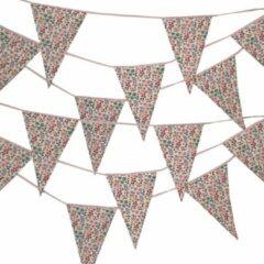BINK Bedding Stoffen Slinger - Vlaggenlijn Dees model XXL (10 mtr, 21 vlaggetjes)