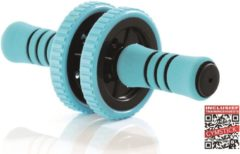 Blauwe Gymstick Active Workout Roller - Ab Wheel - Ab Roller - Met Online Trainingsvideo's