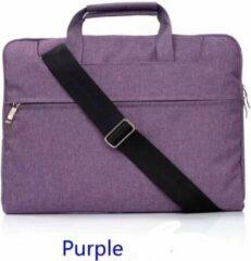 H.K. Laptop tas Paars geschikt voor 11-12 inch