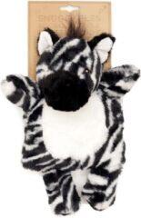 Witte Puckator Magnetron pluche knuffel Zebra