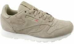 Reebok Cl Leather Mcc CN0000, Kinderen, Beige, Sneakers maat: 36,5 EU