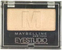 Creme witte Maybelline Eyestudio Mono - 605 Beige Nude - Oogschaduw