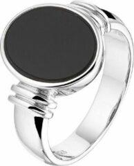 Vigor Ring Onyx - Zilver
