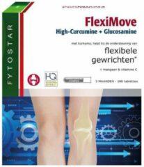 Fytostar FlexiMove High-Curcumine + Glucosamine – Flexibele gewrichten – Voedingssupplement – 180 tabletten